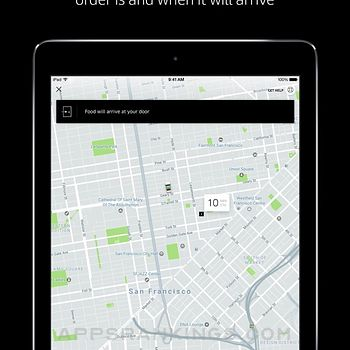 Uber Eats: Food Delivery Ipad Images