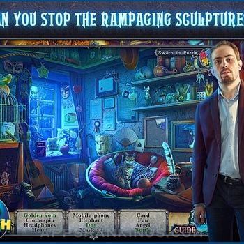 Fear for Sale: City of the Past HD - A Hidden Object Mystery (Full) Ipad Images