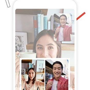 Google Duo iphone images