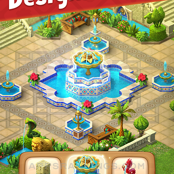Gardenscapes ipad картинки