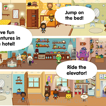 Toca Life: Vacation Ipad Images