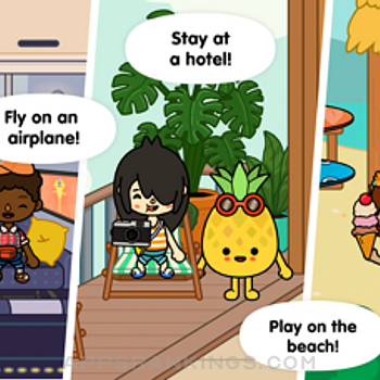 Toca Life: Vacation iphone images