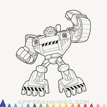 Painting Lulu Transformers Rescue Bots Coloring App App Reviews Download Book App Rankings