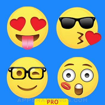 Emoticons Keyboard Pro - Adult Emoji for Texting app description and overview