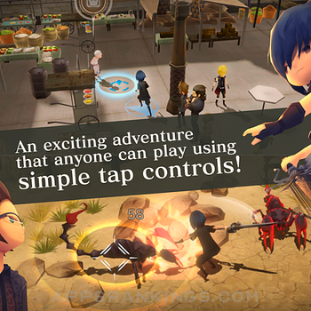 FINALFANTASY XV POCKET EDITION Ipad Images