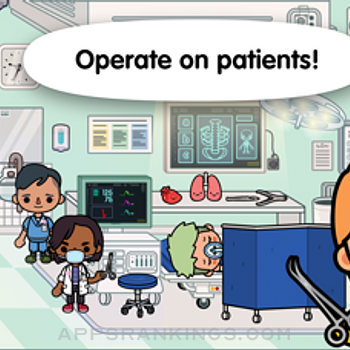 Toca Life: Hospital iphone images