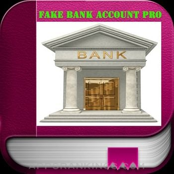 Fake Bank Account Pro app reviews and download