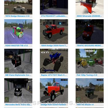 Mods For Farming Simulator 2017- FS Mod Game 17 Ipad Images