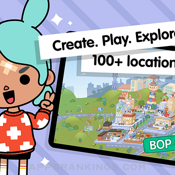 Toca Life World: Build stories Ipad Images