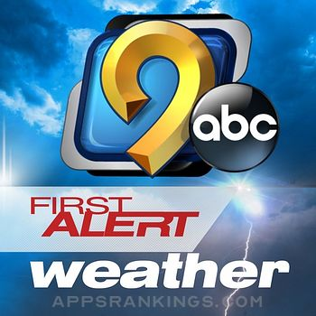 KCRG-TV9 First Alert Weather app reviews and download
