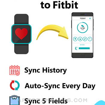 Sync For Apple Health > Fitbit iphone images