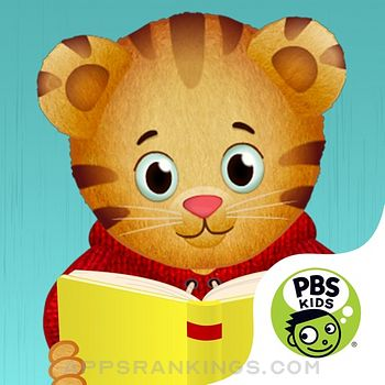 Daniel Tiger's Storybooks app description and overview