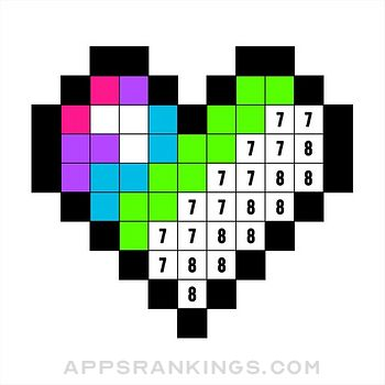 Color by Number: Coloring Game app reviews and download