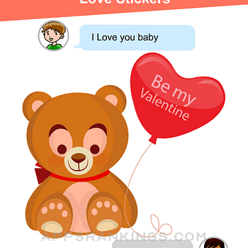 Teddy Love Stickers Ipad Images