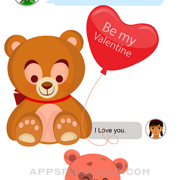 Teddy Love Stickers iphone images