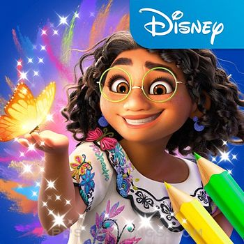 Disney Coloring World app reviews and download