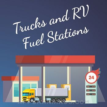 Trucks and RV Fuel Stations app reviews and download