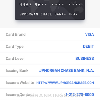 BIN Check: Credit Card Checker iphone images