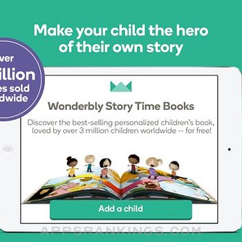 Wonderbly Story Time Books ipad images