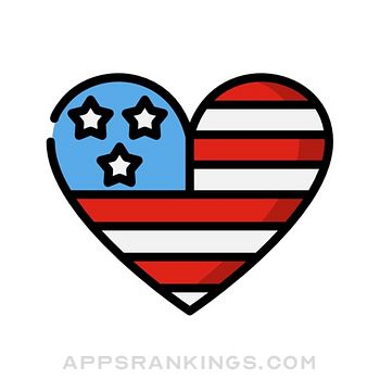 4th of July Stickers app reviews and download