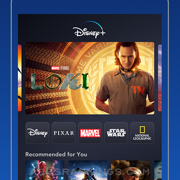 Disney+ iphone images
