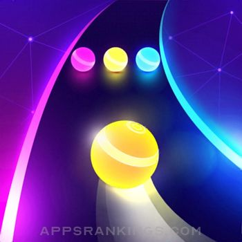 Dancing Road: Color Ball Run! app description and overview