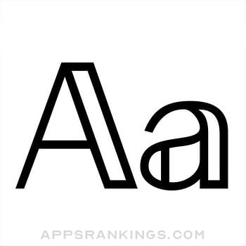 Fonts app overview, reviews and download