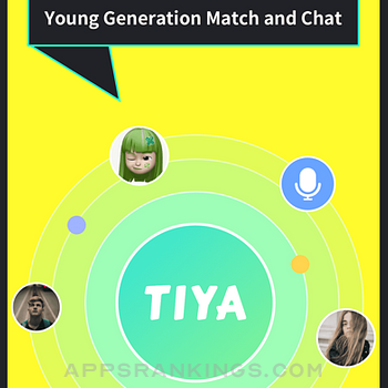 Tiya - Voice Chat & Match iphone images