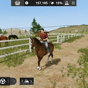 Farming Simulator 20 iPad captures décran