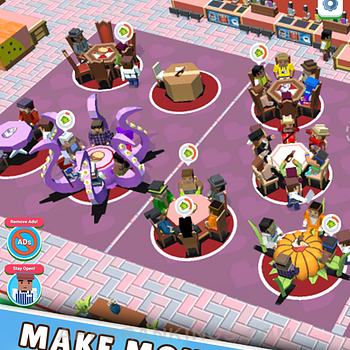 Idle Diner! Tap Tycoon Ipad Images