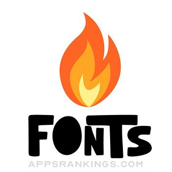 Fire Fonts | Fonts for iPhones app reviews and download