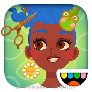 Toca Hair Salon 4 app description and overview