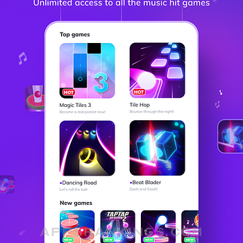 Game of Songs - Music Gamehub Ipad Images