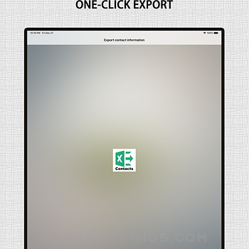 Save contacts to Excel Ipad Images