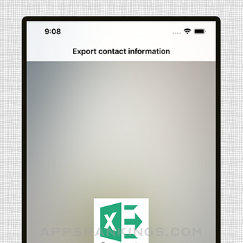 Save contacts to Excel iphone images