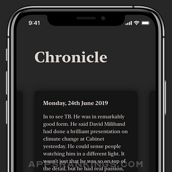 Chronicle - Simple Journal iphone images
