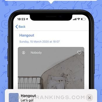 PlanGO Hangouts iphone images