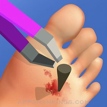 Foot Clinic - ASMR Feet Care app reviews and download
