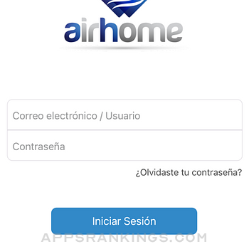 Airhome Mirage App iphone images