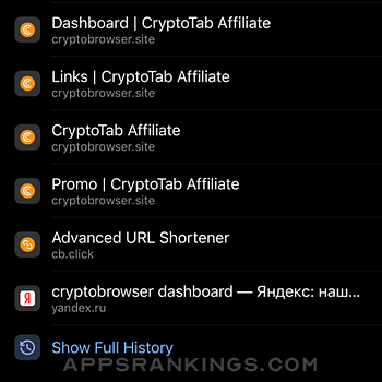 CryptoTab Browser Pro iphone images