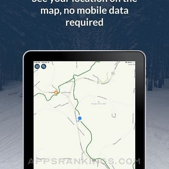 NH Snowmobile Trails 2021 Ipad Images