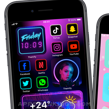 Themify: Icon Themer & Widgets iphone images