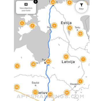 Baltic Trip Planner Ipad Images