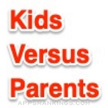 Kids Versus Parents Quiz App Logo