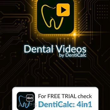 Dental videos by DentiCalc iphone images