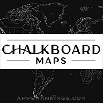 Chalkboard Maps app reviews