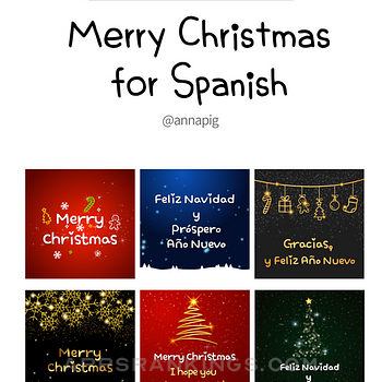 Merry Christmas for Spanish Ipad Images
