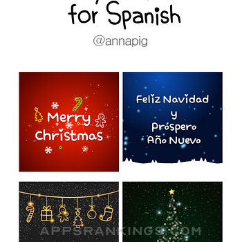 Merry Christmas for Spanish iphone images