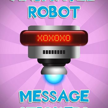 Animated Robot Text Stickers Ipad Images