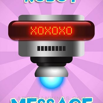 Animated Robot Text Stickers iphone images